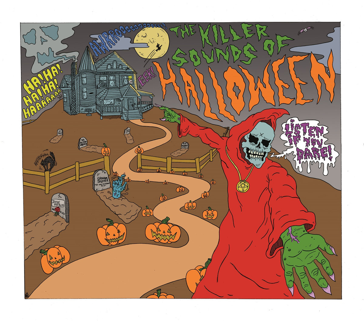 The Killer Sounds of Halloween Album Cover